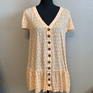 Skylar + Madison button front dress size medium